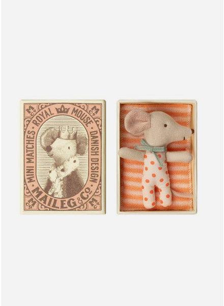 Maileg sleepy-wakey baby mouse in box girl