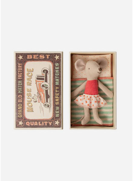Maileg Mouse Little sister in box