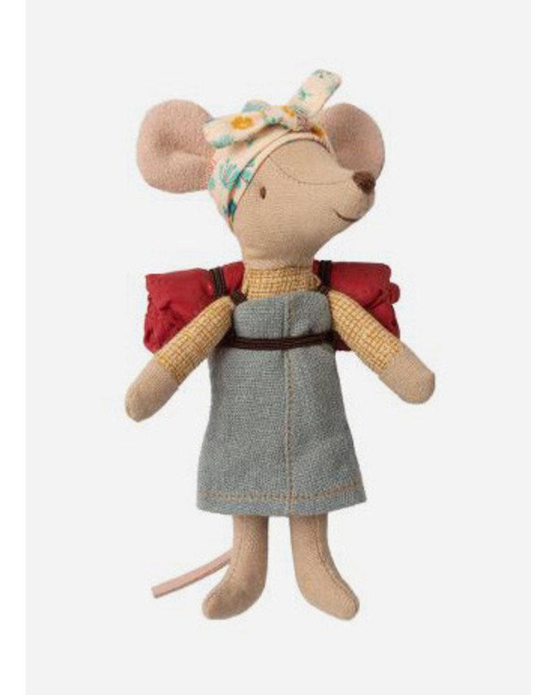 Maileg hiking mouse, big sister