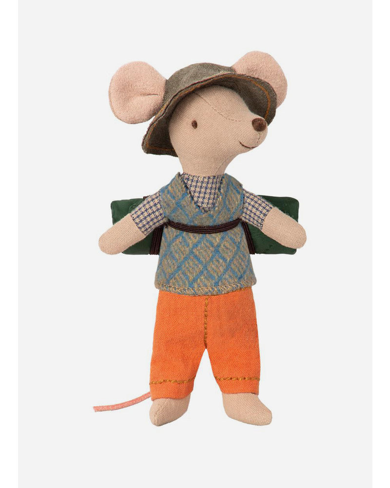 Maileg hiking mouse, big brother