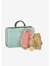 Maileg suitcase with 2 dresses