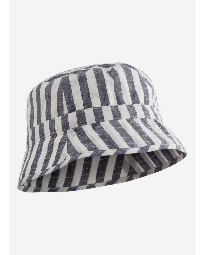 Liewood jack bucket hat stripe navy creme