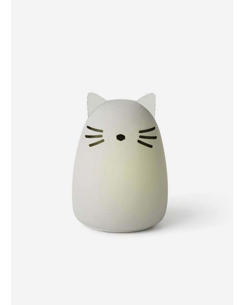 Liewood winston night light cat dumbo grey