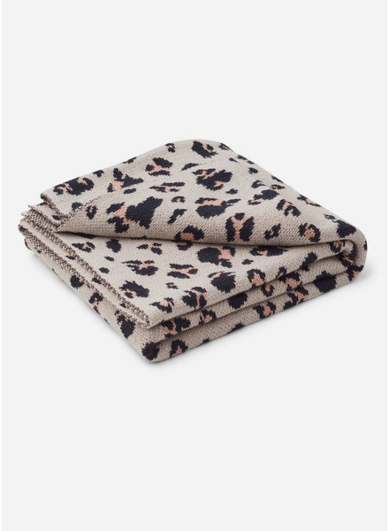 Liewood kamma jacquard blanket