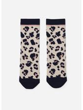Liewood sofia cotton knee socks leo beige