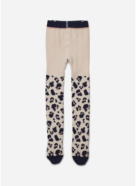 Liewood silje cotton stocking leo beige
