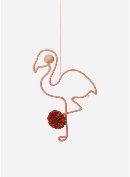 Liewood odin mobile flamingo coral rose