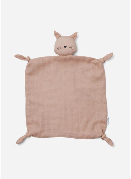 Liewood agnete cuddle cloth cat rose