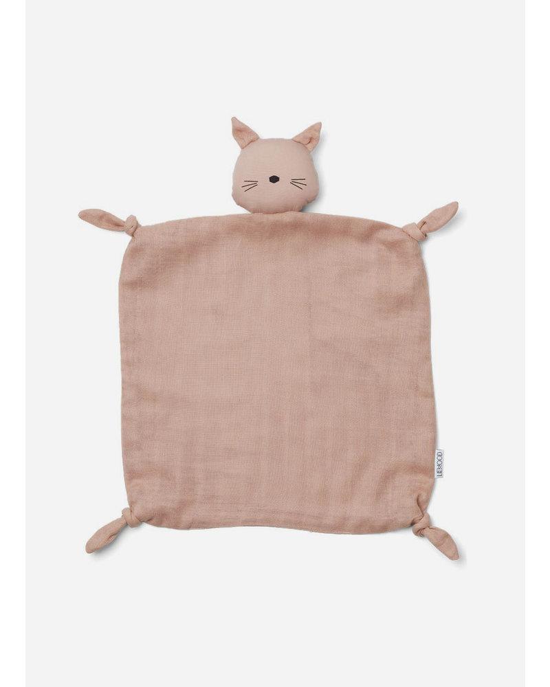 Liewood agnete cuddle cloth cat rose