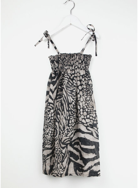 Club Cinq nice dress tiger print