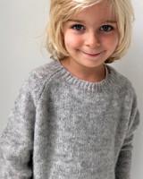 Club Cinq wool sweater grey