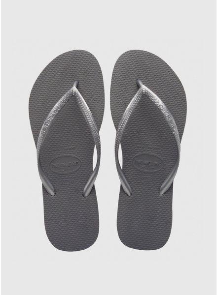 Havaianas flip flop slim steel grey