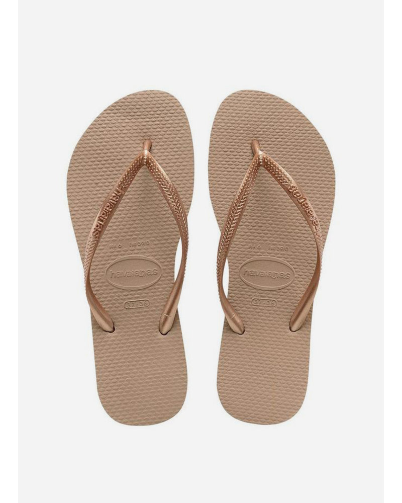 Havaianas flip flop slim rose gold