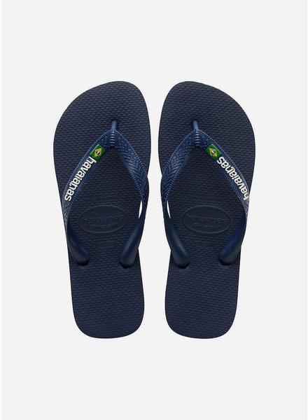 Havaianas flip flop brasil navy blue