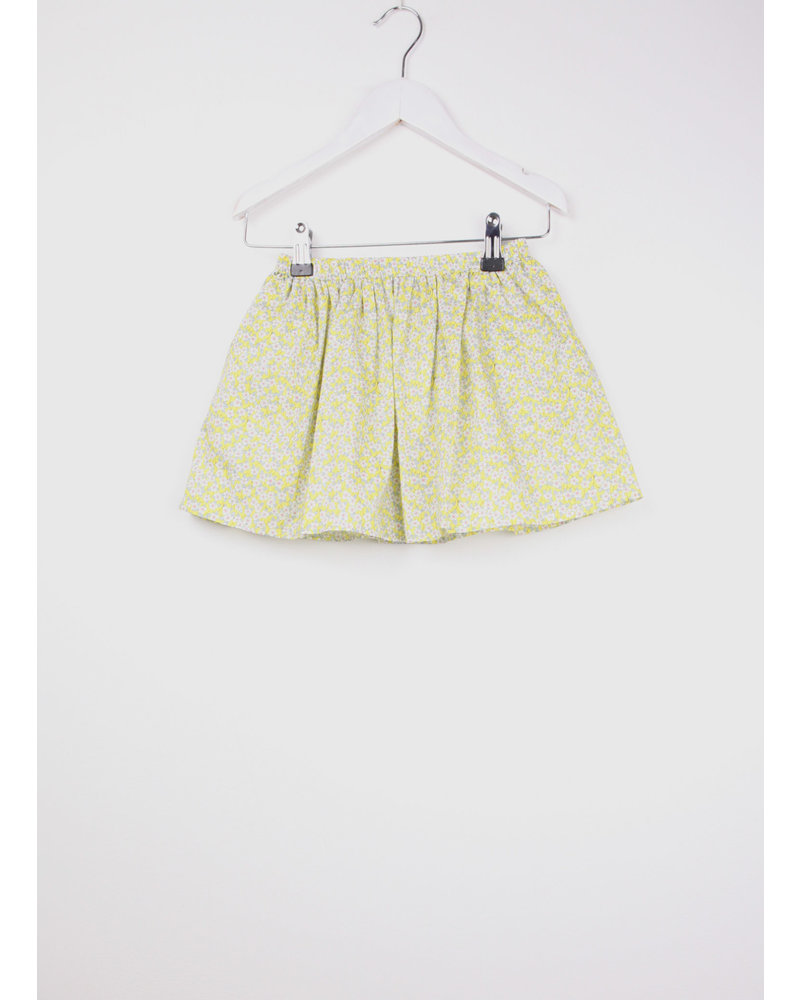 Club Cinq skirt yellow flower