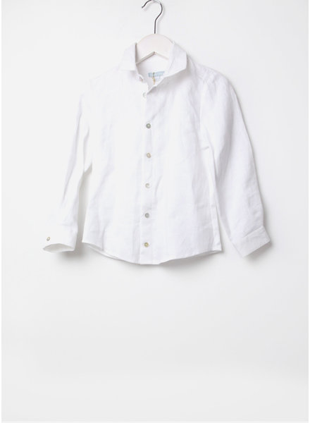Club Cinq shirt braga white linen