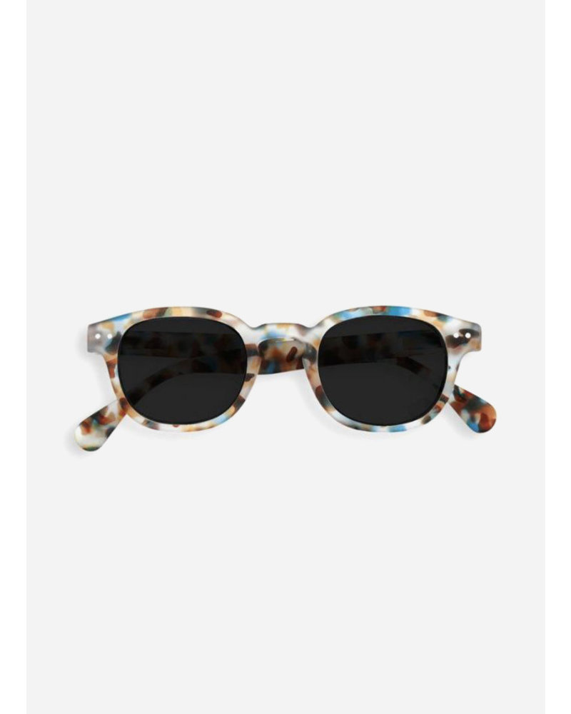 Izipizi sun #C blue tortoise - grey lenses