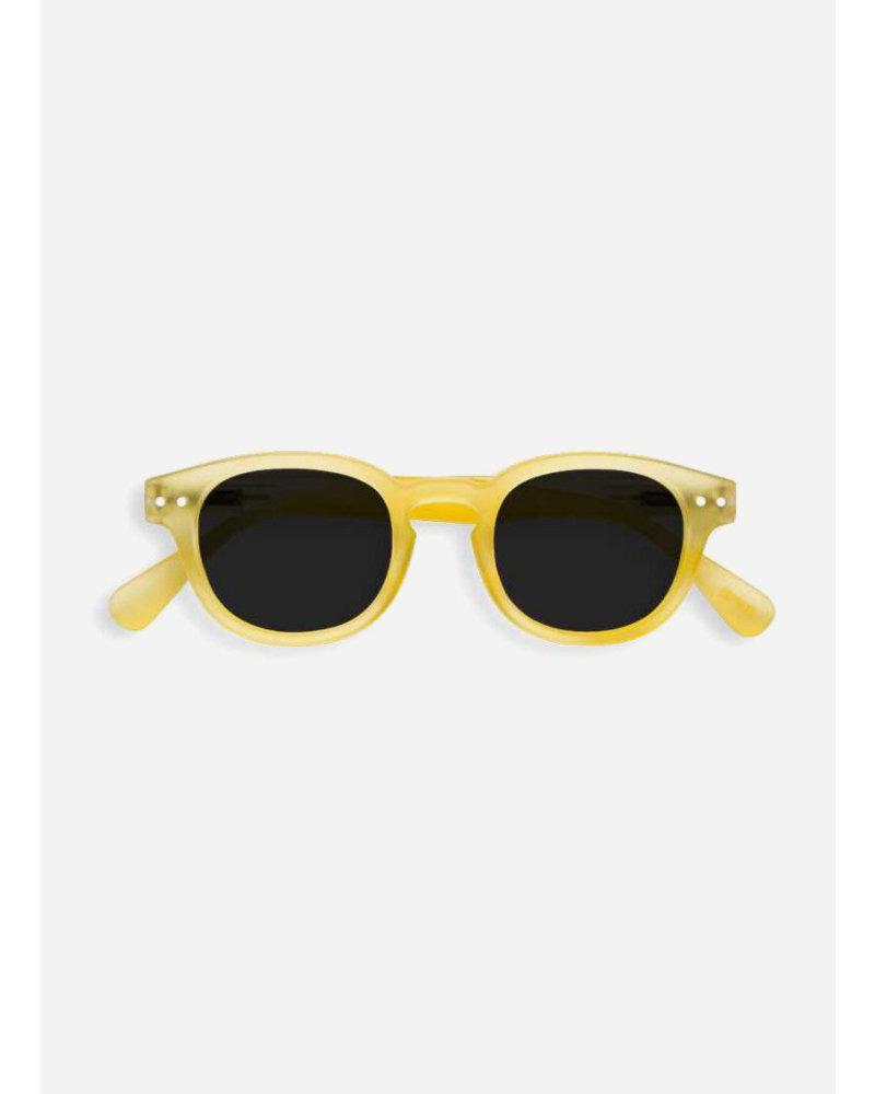 Izipizi sun #C yellow chrome - grey lenses