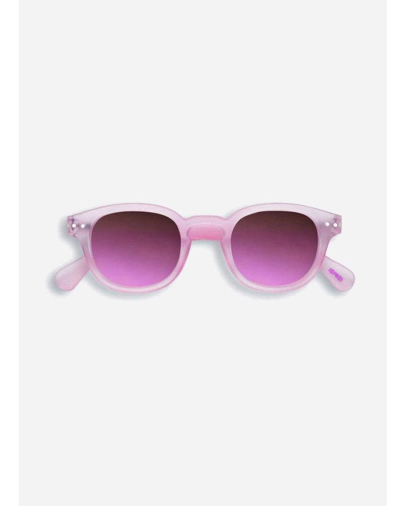 Izipizi sun #C pink halo - grey lenses