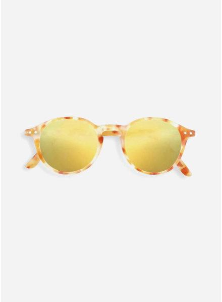 Izipizi sun #D junior yellow tortoise - yellow mirror lenses