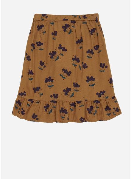Soft Gallery dakota skirt, inca gold, aop berries small