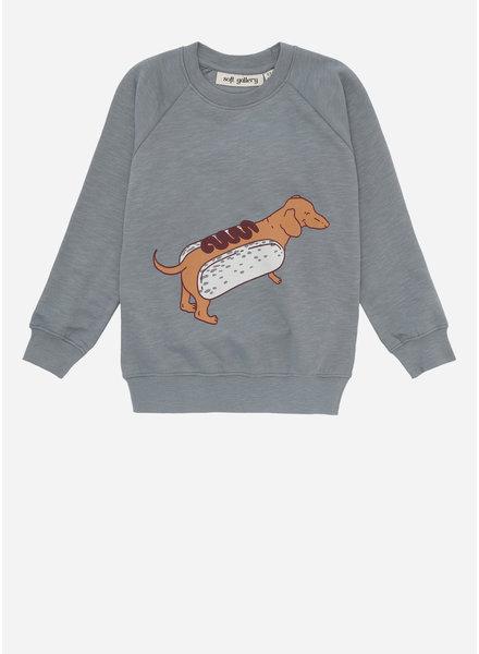 Soft Gallery chaz sweatshirt, trooper, hotdog