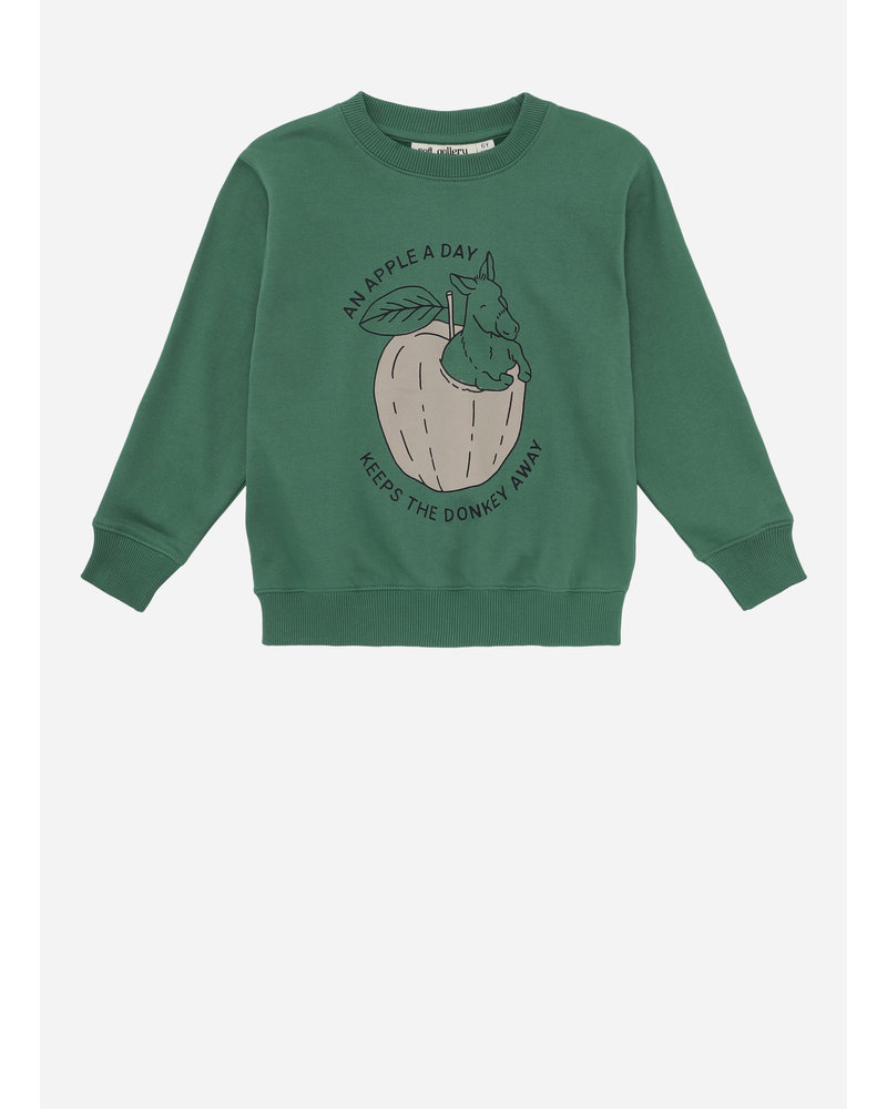 Soft Gallery baptiste sweatshirt, verdant green, donkeyfruit