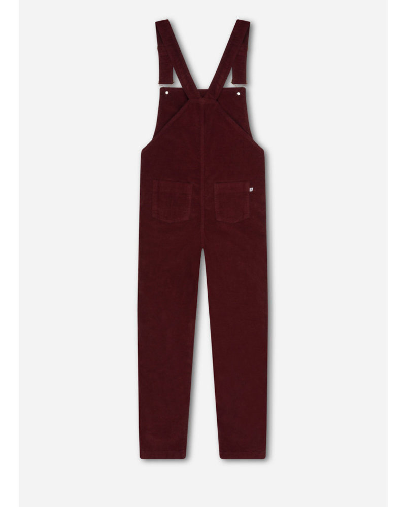 Repose 9. dungaree - warm red
