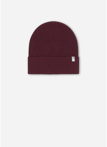 Repose 40. knitted hat - rosewood red