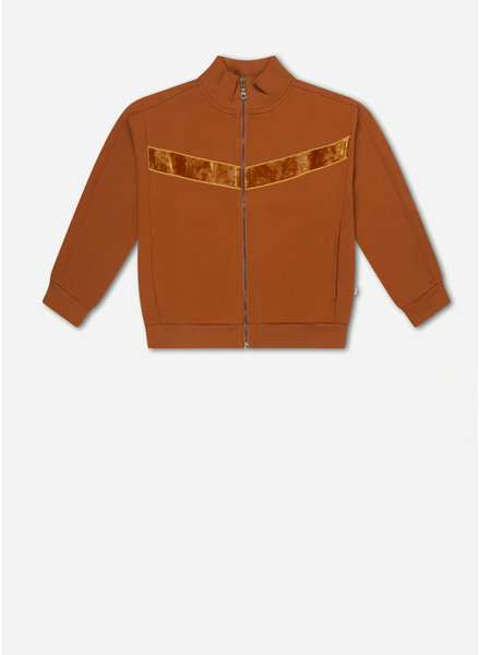 Repose 34. track jacket - spice gold