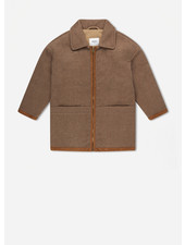 Repose 3. bomber with collar - sand brown