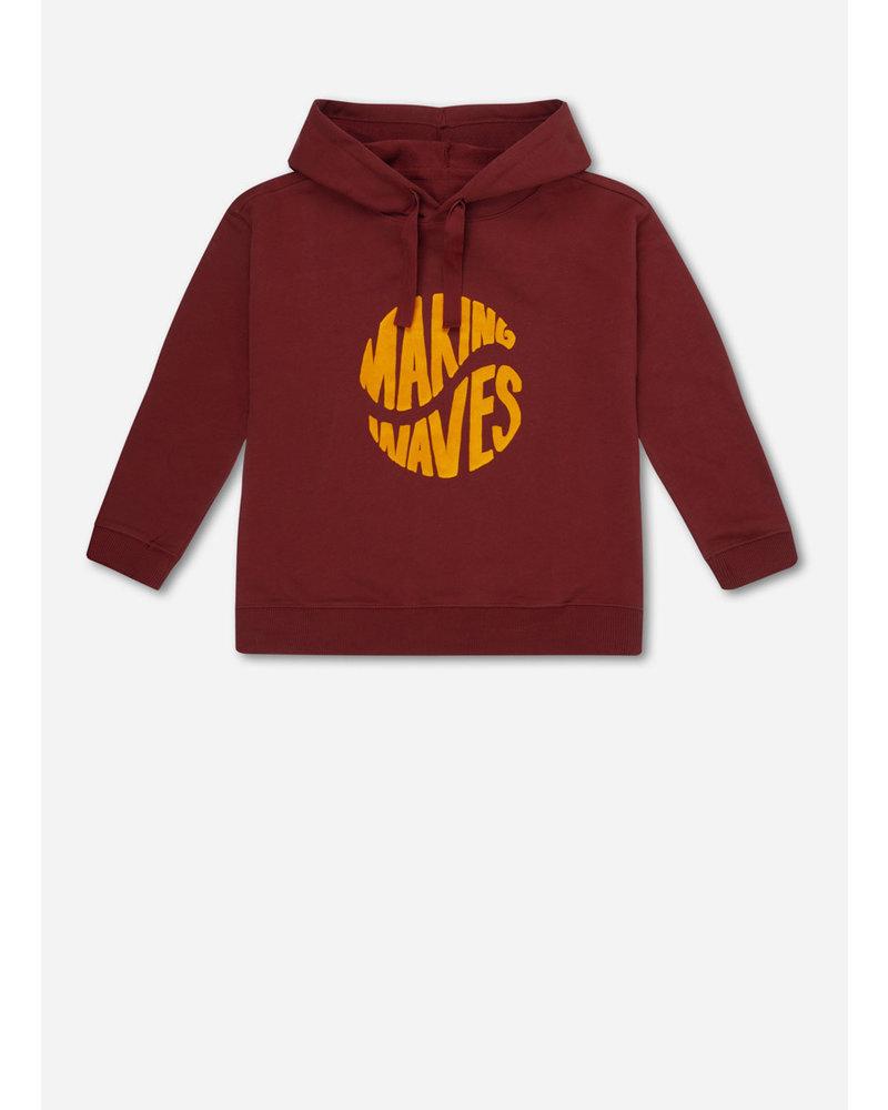 Repose 25. hoodie - warm brick