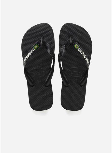 Havaianas flip flop brasil black