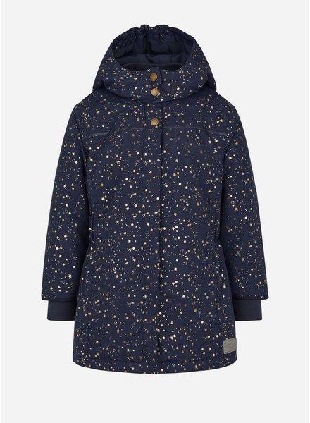 MarMar Copenhagen olga technical outerwear darkest blue starflake