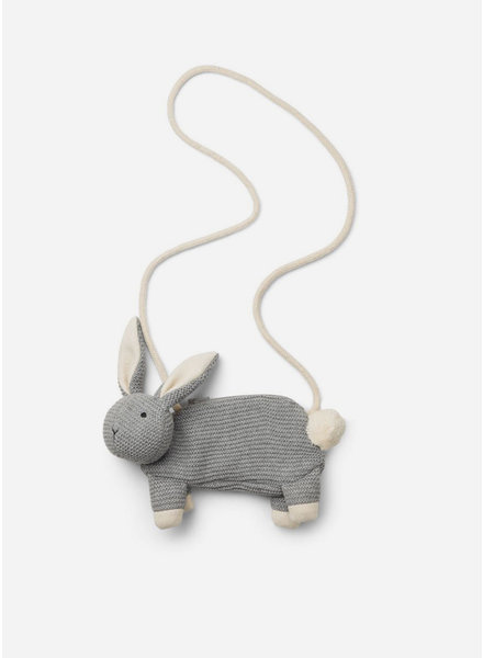 Liewood momo bag rabbit grey melange