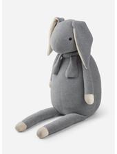 Liewood kathlin knit teddy rabbit grey melange
