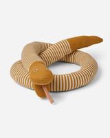 Liewood fillippa knitted snake stripe mustard/beige beauty