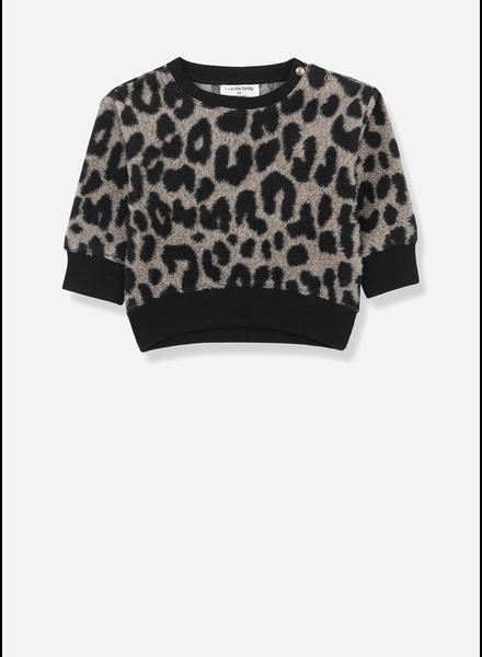 1+ In The Family manitoba sweatshirt black/beige