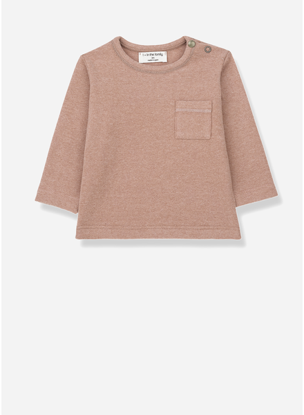 1+ In The Family bilbao long sleeve t-shirt rose