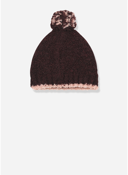 1+ In The Family lausanne beanie burgundy