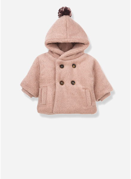 1+ In The Family halifax hood jacket rose