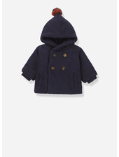 1+ In The Family halifax hood jacket dark blue