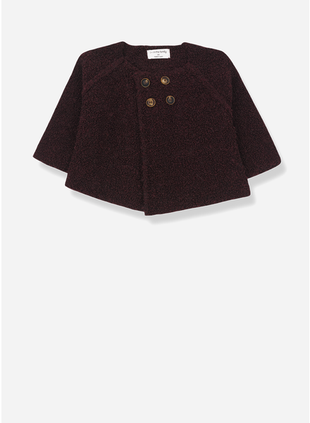1+ In The Family geneve jacket burgundy