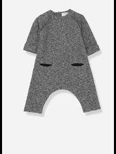 1+ In The Family bra jumpsuit black/white