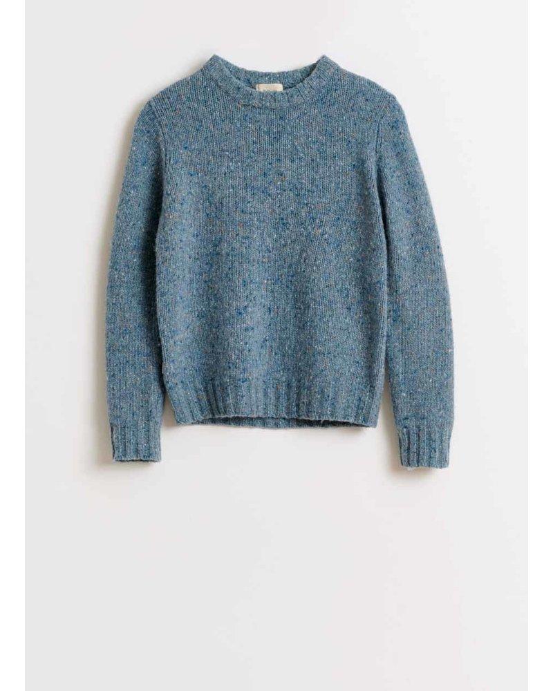 Bellerose ginot knitwear - chambray
