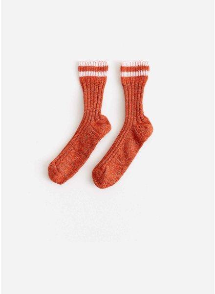 Bellerose faya socks - orange