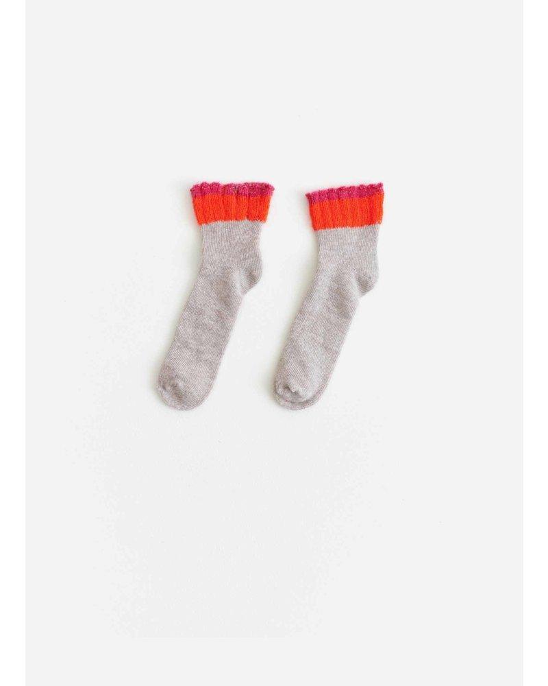 Bellerose falia socks - beige melange