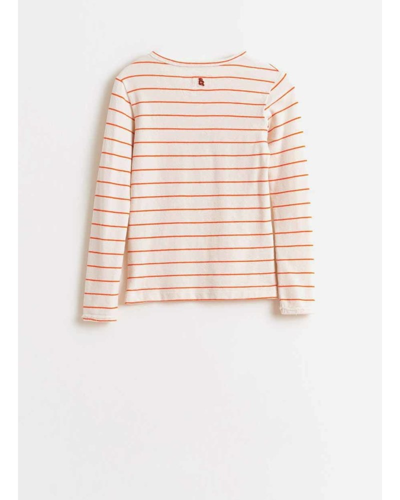 Bellerose amy t-shirt - stripe a