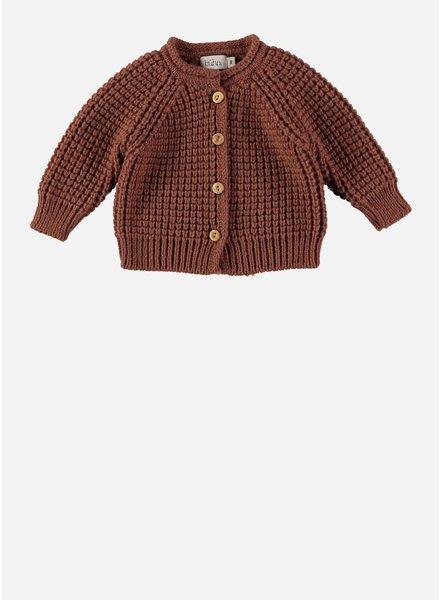 Buho robin knit cardigan caramel