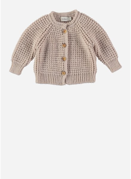 Buho robin knit cardigan naturel
